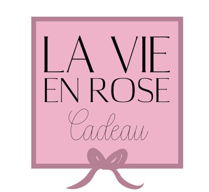 la vie en rose cadeau logo